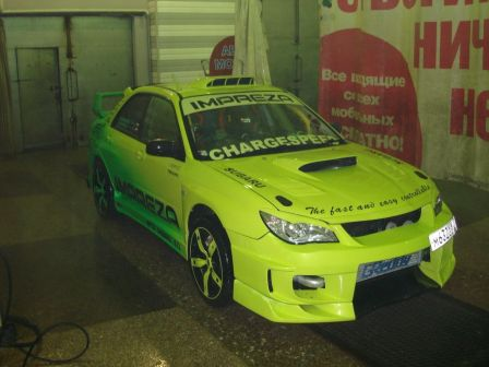 Subaru Impreza WRX STI 2003 - отзыв владельца