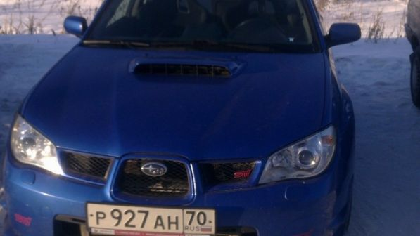 Subaru Impreza WRX STI 2007 - отзыв владельца