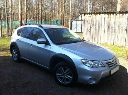 Subaru Impreza XV 2010 - отзыв владельца