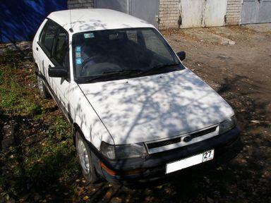 Subaru Justy, 1989