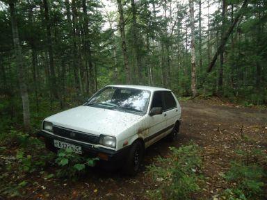 Subaru Justy, 1987