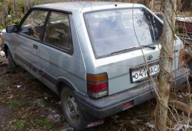 Subaru Justy, 1986