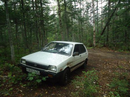 Subaru Justy 1987 - отзыв владельца