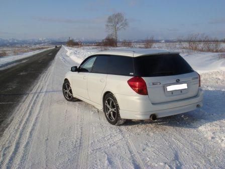 Subaru Legacy 2005 - отзыв владельца