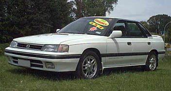 Subaru Legacy 1989 - отзыв владельца