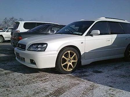 Subaru Legacy 2002 - отзыв владельца