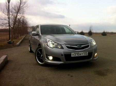 Subaru Legacy 2009 - отзыв владельца