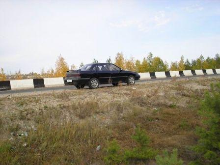 Subaru Legacy 1991 - отзыв владельца
