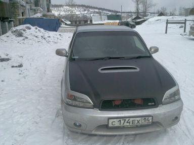 Subaru Legacy B4 2001 отзыв автора | Дата публикации 28.04.2011.