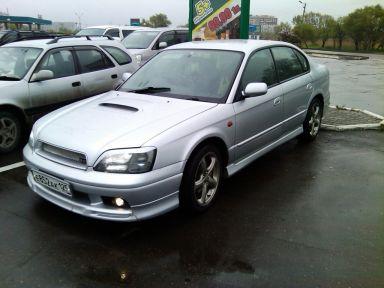 Subaru Legacy B4 2001 отзыв автора | Дата публикации 23.08.2011.