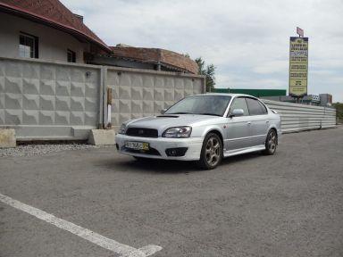 Subaru Legacy B4 2001 отзыв автора | Дата публикации 29.09.2011.