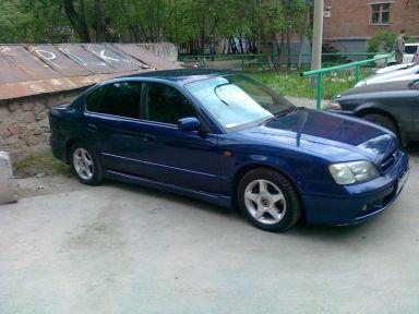 Subaru Legacy B4 2001 отзыв автора | Дата публикации 19.12.2011.