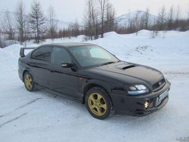 Subaru Legacy B4 2001 отзыв автора | Дата публикации 02.04.2012.