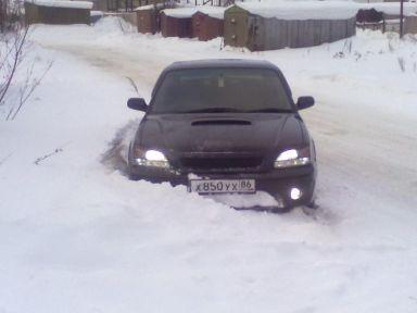 Subaru Legacy B4 2001 отзыв автора | Дата публикации 11.09.2012.