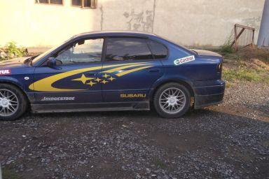 Subaru Legacy B4 2001 отзыв автора   Дата публикации 14.09.2012.