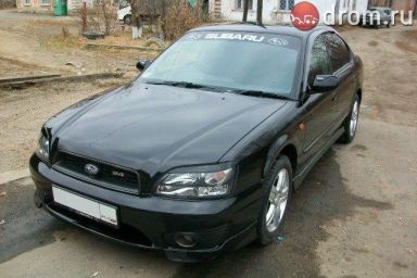 Subaru Legacy B4 2001 отзыв автора | Дата публикации 17.10.2012.