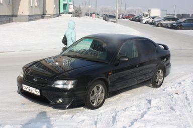 Subaru Legacy B4 2001 отзыв автора | Дата публикации 24.11.2012.