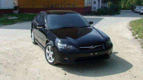 Subaru Legacy B4  - отзыв владельца