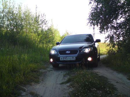 Subaru Legacy B4 2008 - отзыв владельца