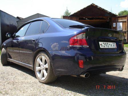 Subaru Legacy B4 2006 - отзыв владельца