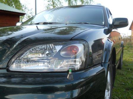 Subaru Legacy Lancaster 2001 - отзыв владельца