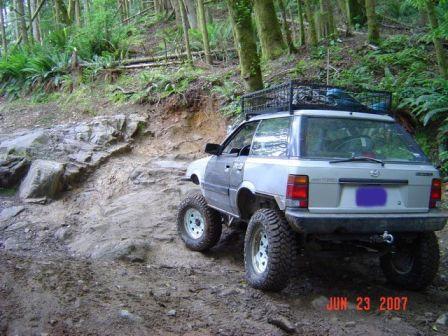 Subaru Leone 1988 - отзыв владельца