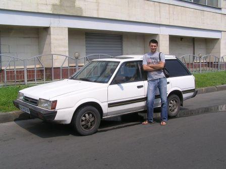 Subaru Leone 1989 - отзыв владельца