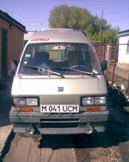 Subaru Libero 1990 - отзыв владельца