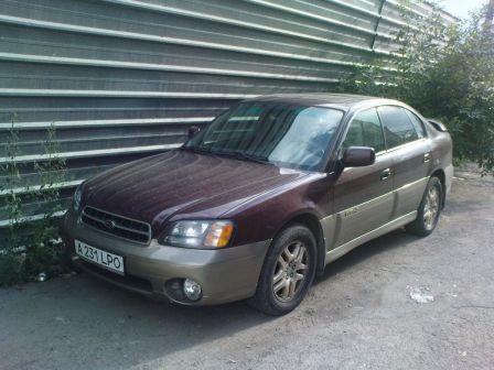 Subaru Outback 2000 - отзыв владельца