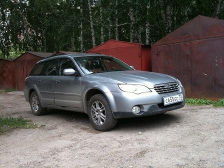 Subaru Outback 2007 - отзыв владельца