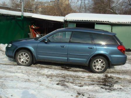 Subaru Outback 2005 - отзыв владельца