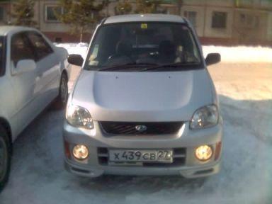 Subaru Pleo, 2000