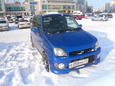 Subaru Pleo 2002 - отзыв владельца