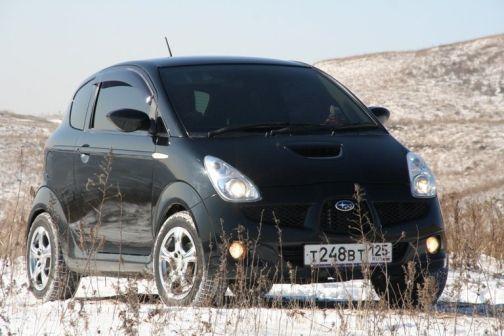 Subaru R1 2004 - отзыв владельца