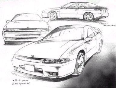 Subaru SVX, 1992