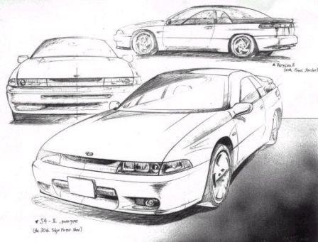 Subaru SVX 1992 - отзыв владельца