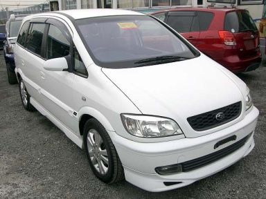 Subaru Traviq, 2001