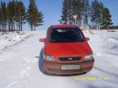 Subaru Traviq 2002 отзыв автора | Дата публикации 29.03.2008.