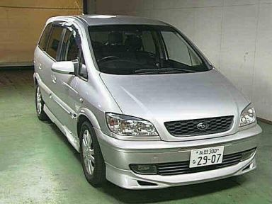 Subaru Traviq, 2003