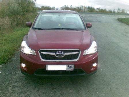 Subaru XV 2011 - отзыв владельца