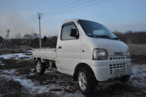 Suzuki Carry Van 2001 - отзыв владельца