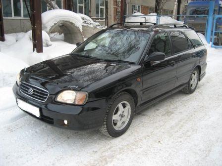 Suzuki Cultus 1999 - отзыв владельца