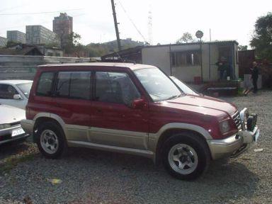 Suzuki Escudo 1995 отзыв автора | Дата публикации 05.01.2003.