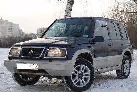 Suzuki Escudo 1996 отзыв автора | Дата публикации 03.08.2009.