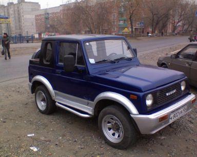 Suzuki Escudo 1990 отзыв автора | Дата публикации 02.11.2010.