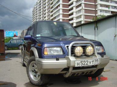 Suzuki Escudo 1995 отзыв автора | Дата публикации 12.07.2004.