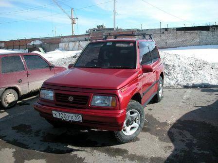 Suzuki Escudo 1994 - отзыв владельца