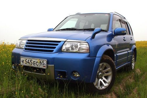 Suzuki Escudo 2003 - отзыв владельца