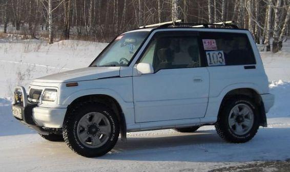 Suzuki Escudo 1997 - отзыв владельца