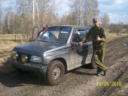 Suzuki Escudo 1989 - отзыв владельца